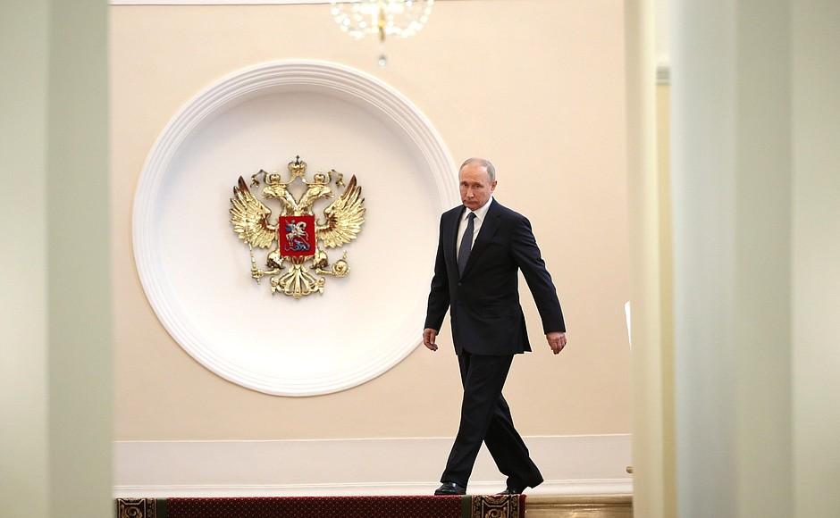 Цель моей жизни — это служение моему народу и Отечеству — Владимир Путин