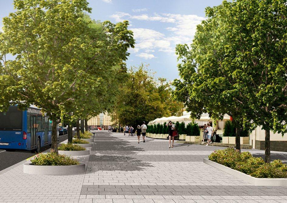 Проект реконструкции Садового кольца вышел в финал Европейской премии