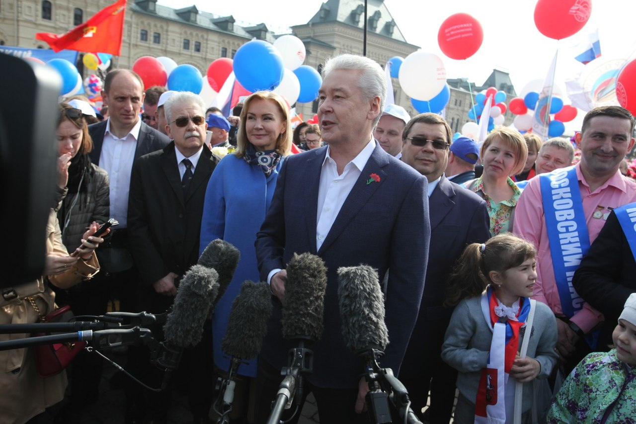 Сергей Собянин рассказал о работе волонтеров
