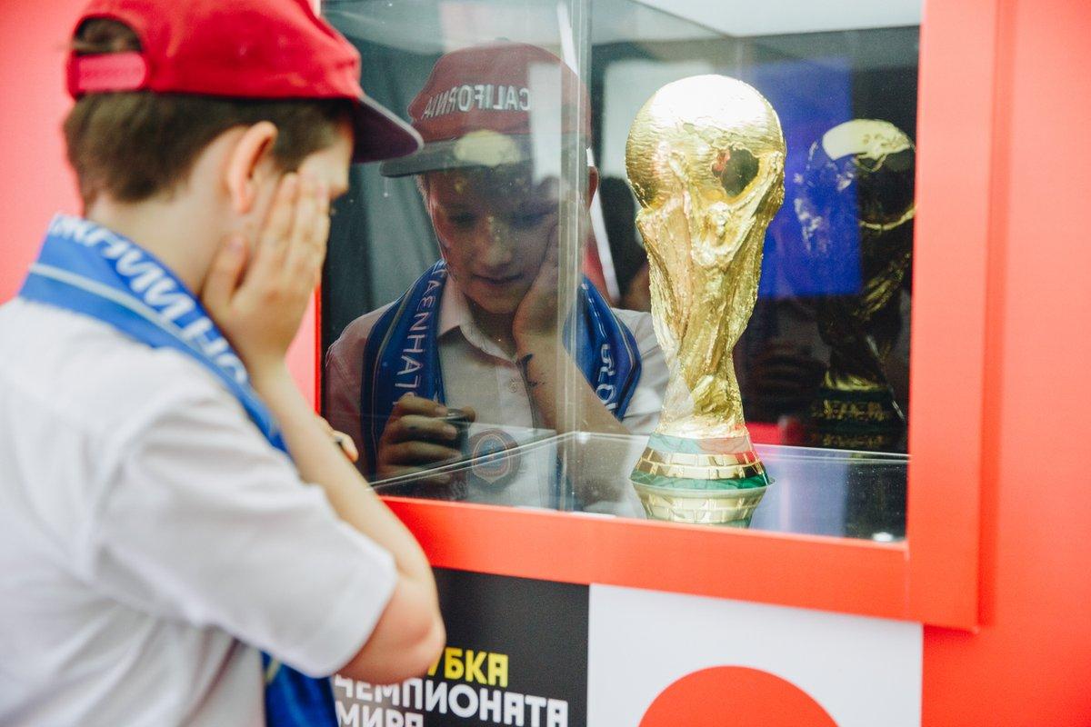 Кубок мира по футболу выставят в Парке Горького с 4 по 7 июня