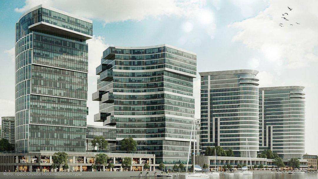 Архсовет одобрил проект строительства комплекса Aquatoria на севере Москвы