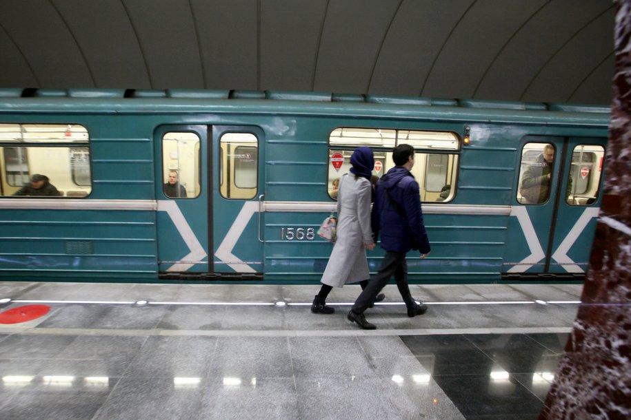 Северный вестибюль станции «Спартак» работает в обычном режиме