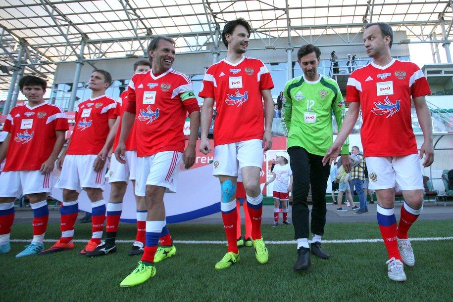 Арт-футбол: Россия победила Казахстан со счетом 2:1
