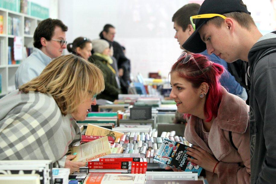 В столице открылся книжный фестиваль «Красная площадь»