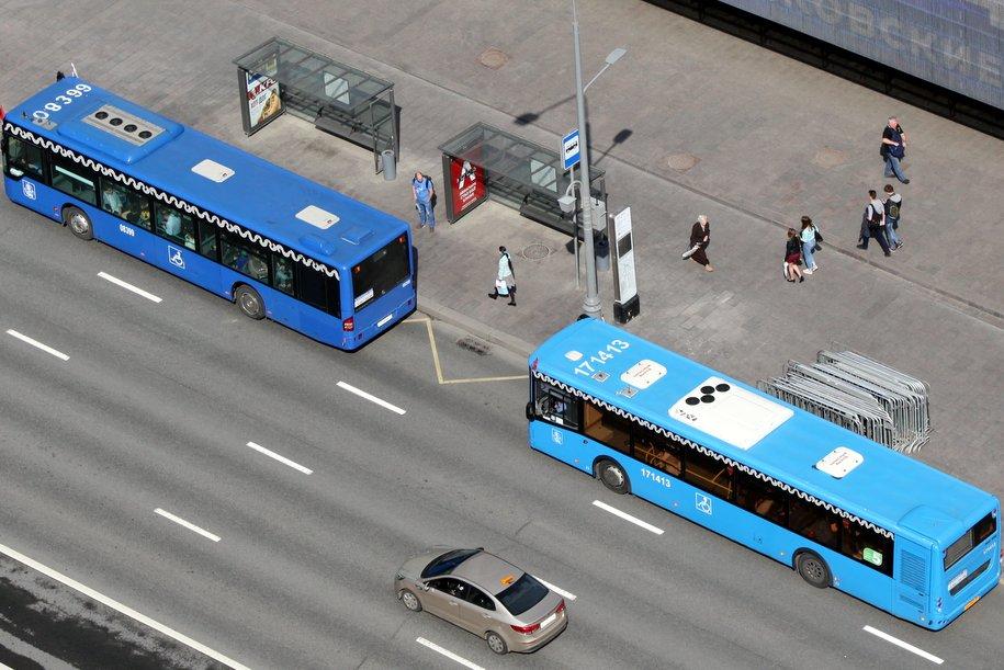 Около 40 резервных автобусов будут дежурить на въездах в Москву во время ЧМ-2018