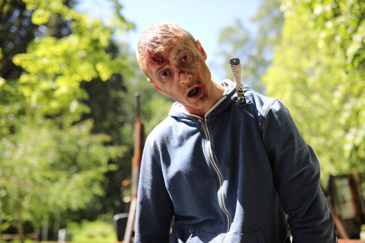 В столичном парке Сокольники прошел шоу-забег «Зомби-ран»