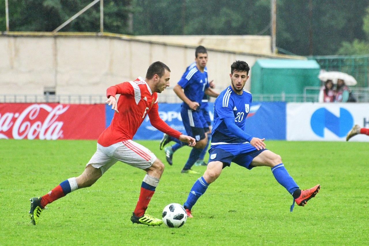 В Москве прошел контрольный матч с Кипром молодежной сборной России