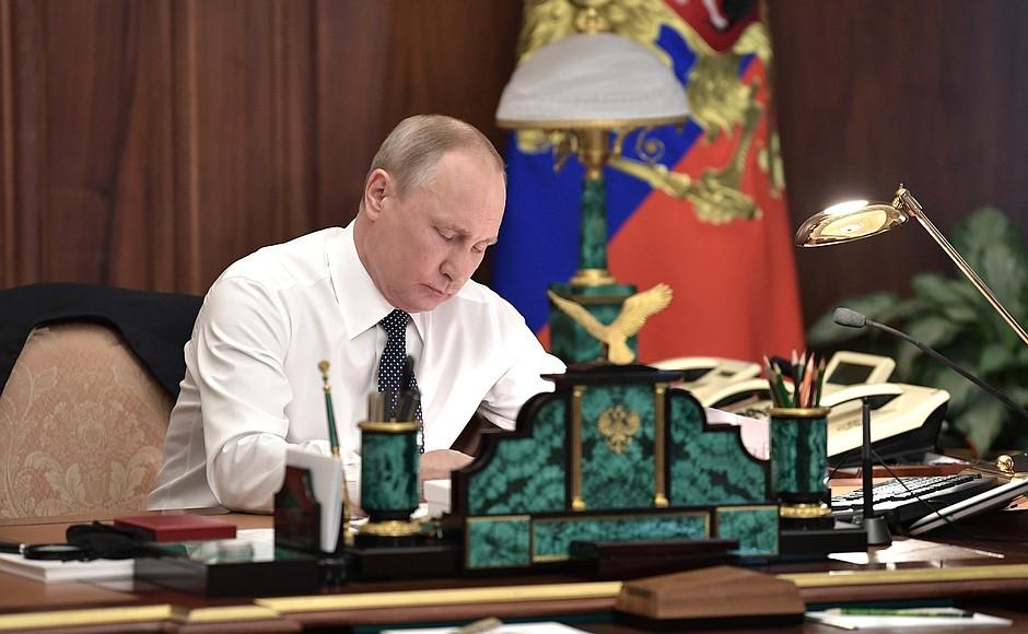 Владимир Путин вспомнил тяжелое время 90-х годов