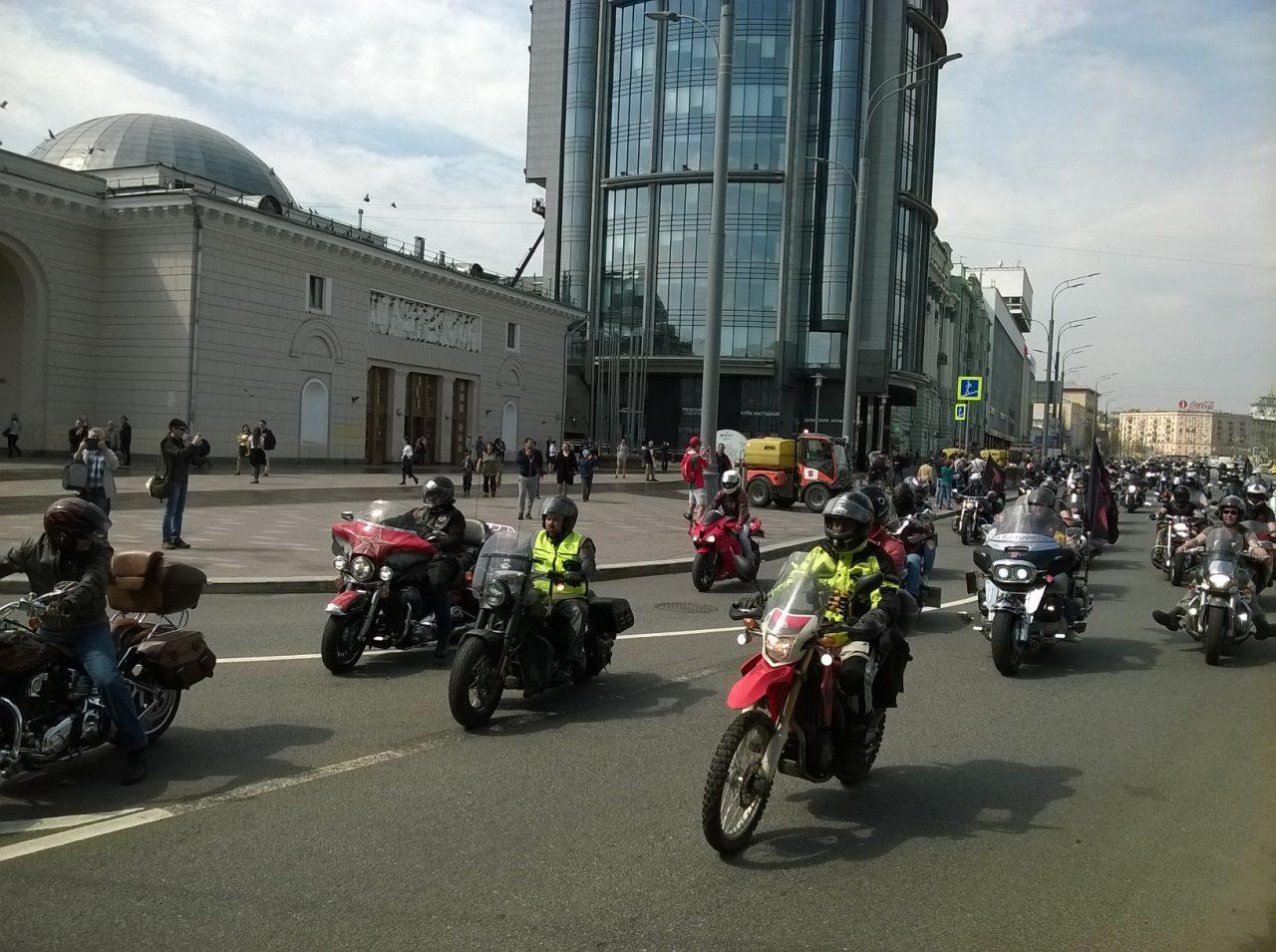 Мотопатрули выйдут на дороги столицы в следующем году
