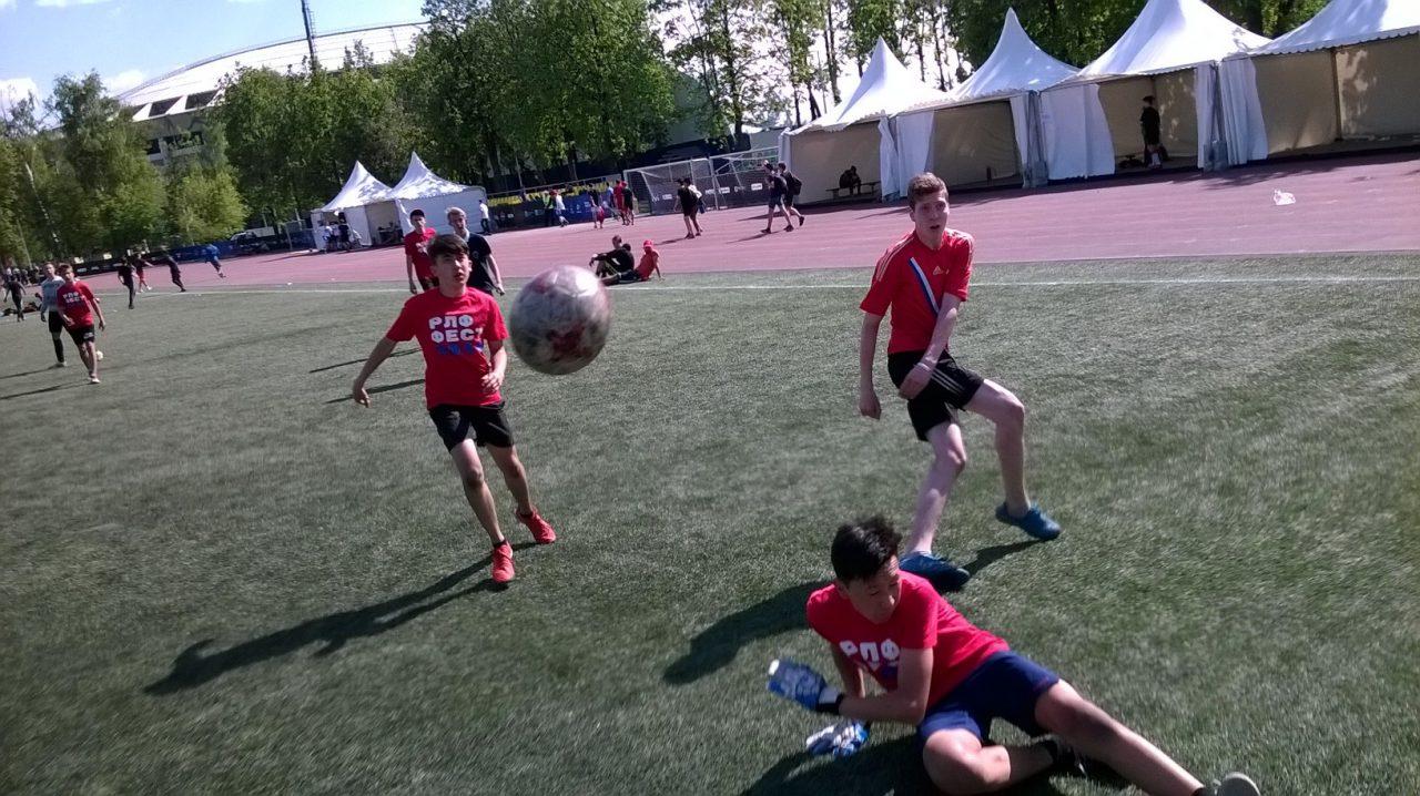 В «Лужниках» состоялся фестиваль «Россия любит футбол»