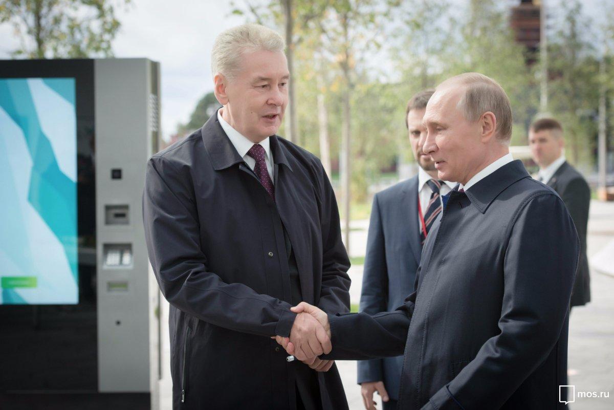 Корабль под названием «Россия» идет вперед, несмотря на штормы — Собянин