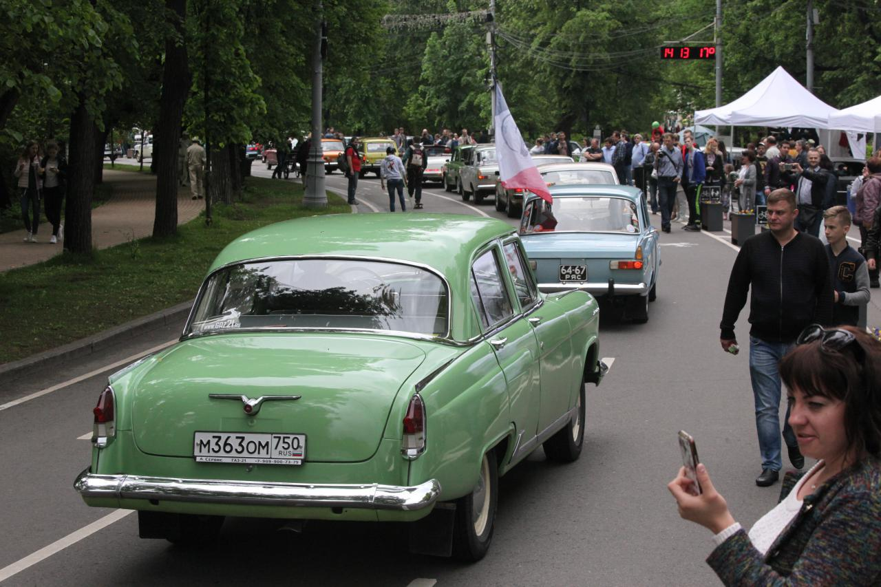 В ЦДХ пройдет выставка-аукцион редких автомобилей