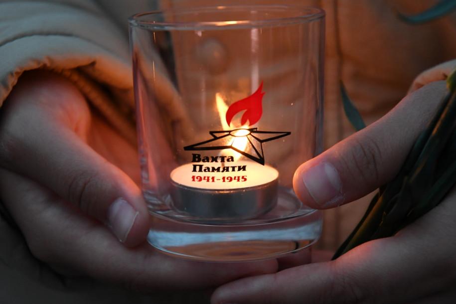 В полночь 22 июня в Музее Победы зажжется 1418 свечей