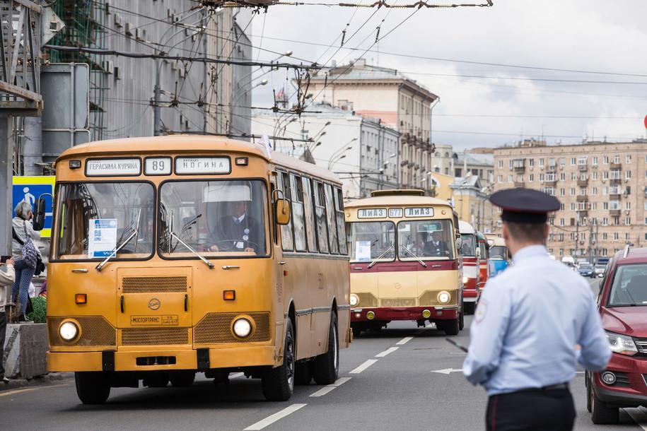 День московского транспорта пройдет в столице 14 июля