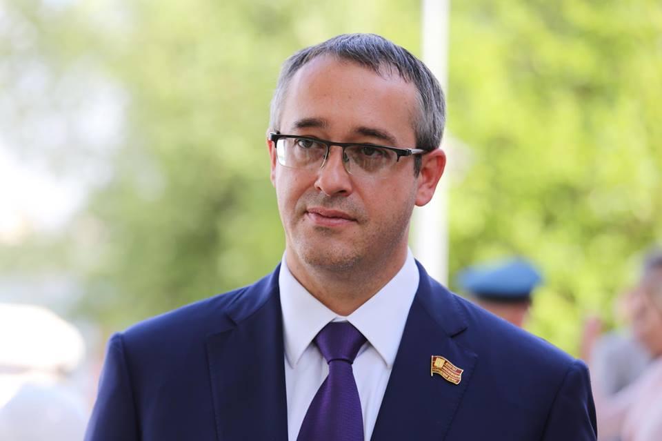 Сергей Собянин поздравил председателя Мосгордумы Алексея Шапошникова с днем рождения