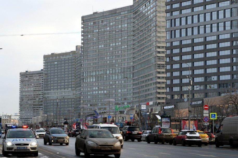 Загруженность столичных дорог оценивается в шесть баллов