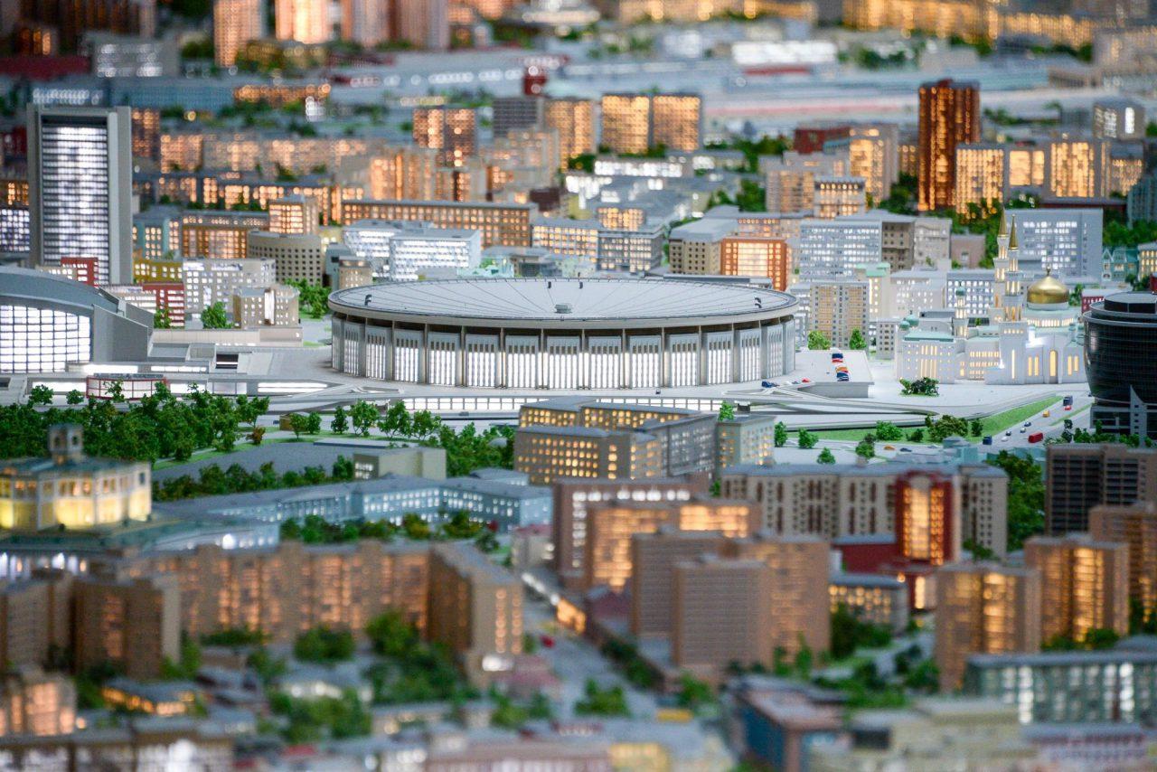 В павильоне «Макет Москвы» установили новые интерактивные киоски