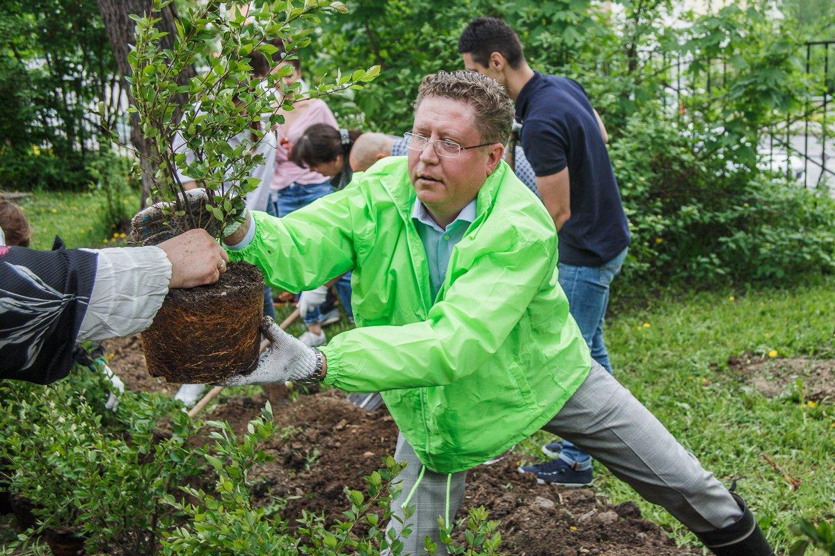 Весной в Москве высадили более 330 тысяч деревьев и кустарников — Собянин