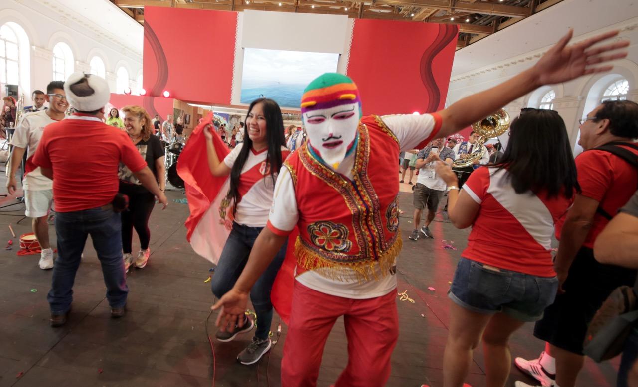 «Дом Перу» открылся в Москве для тысяч поклонников футбола во время ЧМ-2018