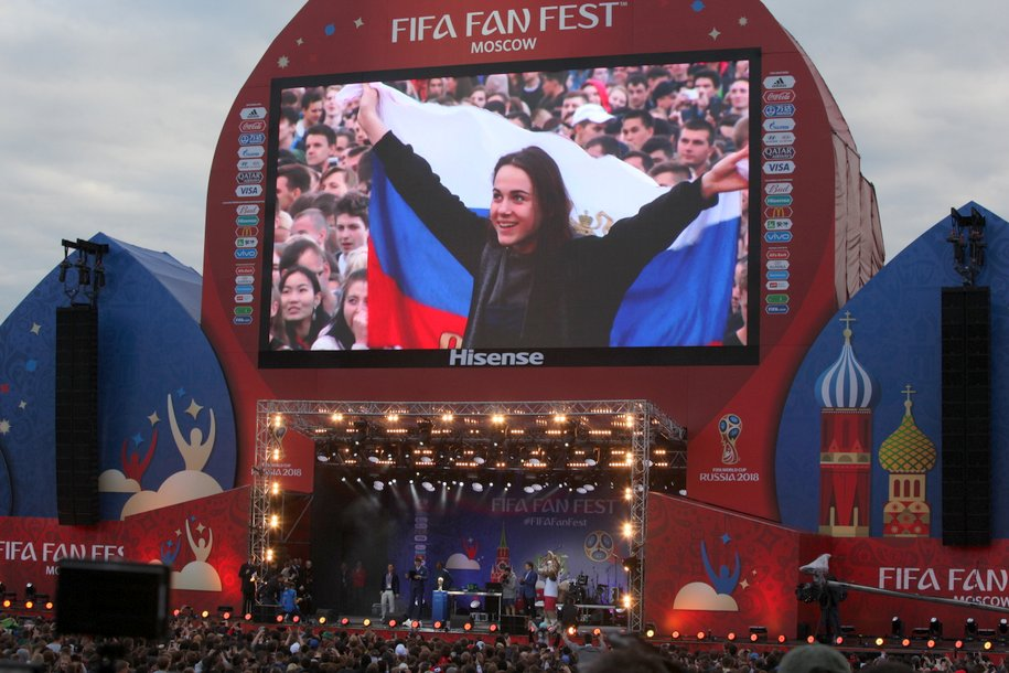 Сборная РФ заняла рекордно небольшое место врейтинге ФИФА