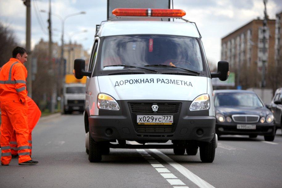 Дорожные службы приступили к нанесению «вафельной» разметки на перекрестках