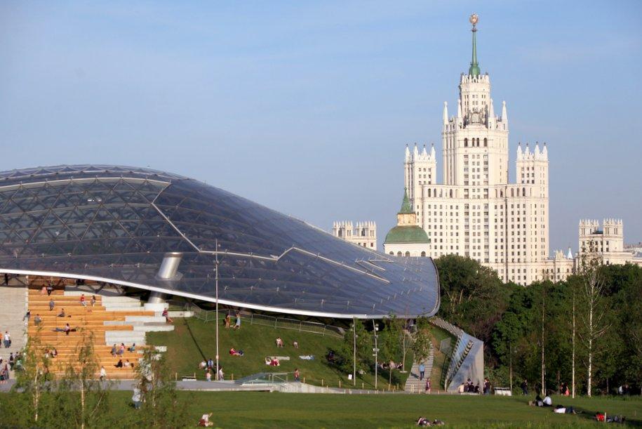 Парк «Зарядье» могут признать объектом культурного наследия через 40 лет