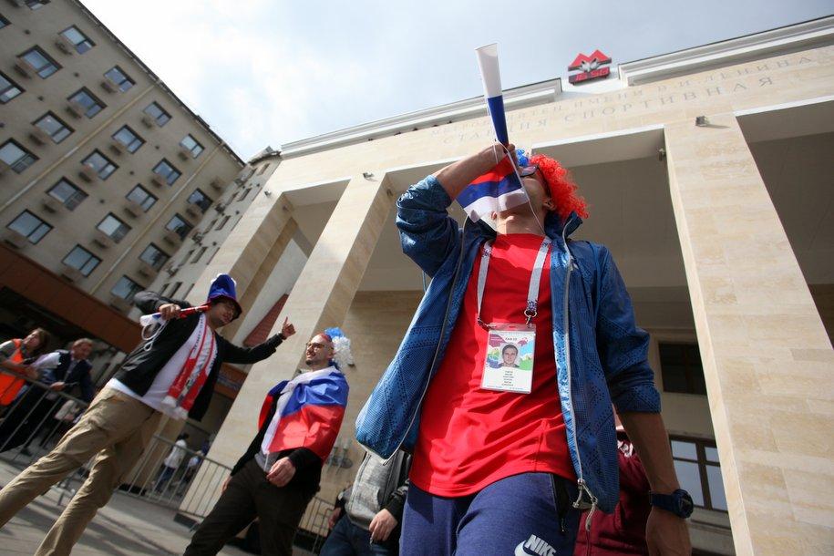 Чемпионат мира не привел к осложнению дорожной ситуации в Москве