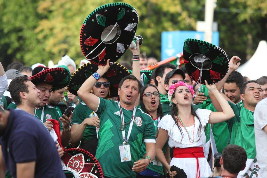 Самые шумные болельщики Чемпионата мира-2018 — из Мексики, Перу и Англии