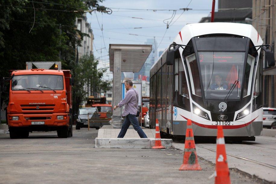 На 2-й Тверской-Ямской улице изменится схема движения транспорта