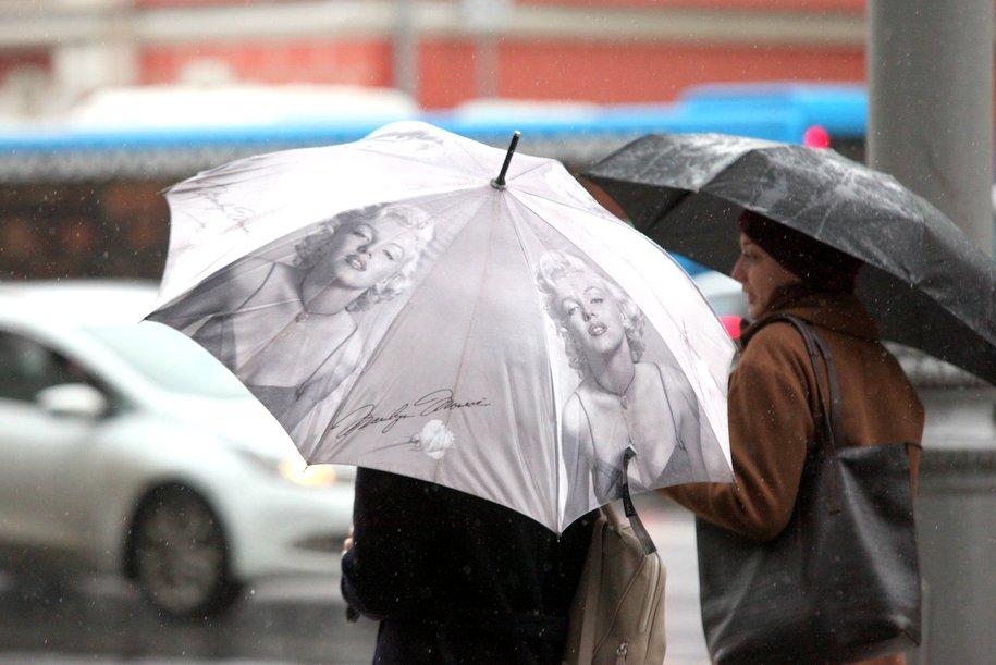 Во второй половине дня в Москве ожидаются ливневые дожди