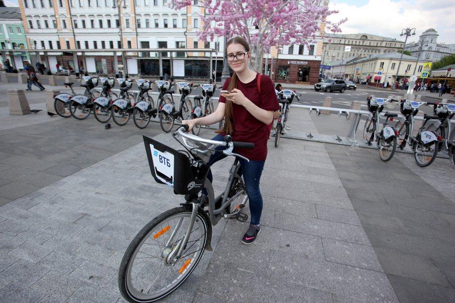 В столичном велопрокате появился новый тариф «FAN 2018»