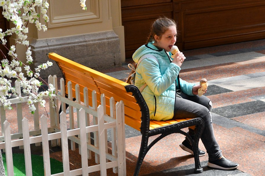 Москва — лидер в России с самым вкусным мороженым