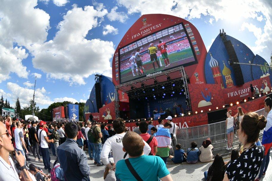 Москва — город с самой лучшей фан-зоной Фестиваля болельщиков FIFA