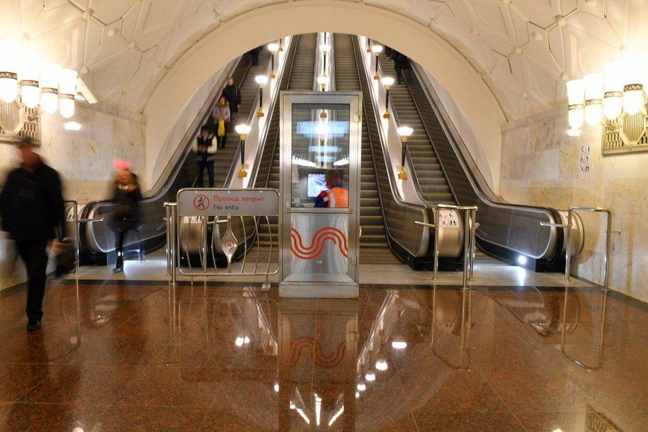 Северный вестибюль станции метро «Спортивная» закрыт до 8 июня