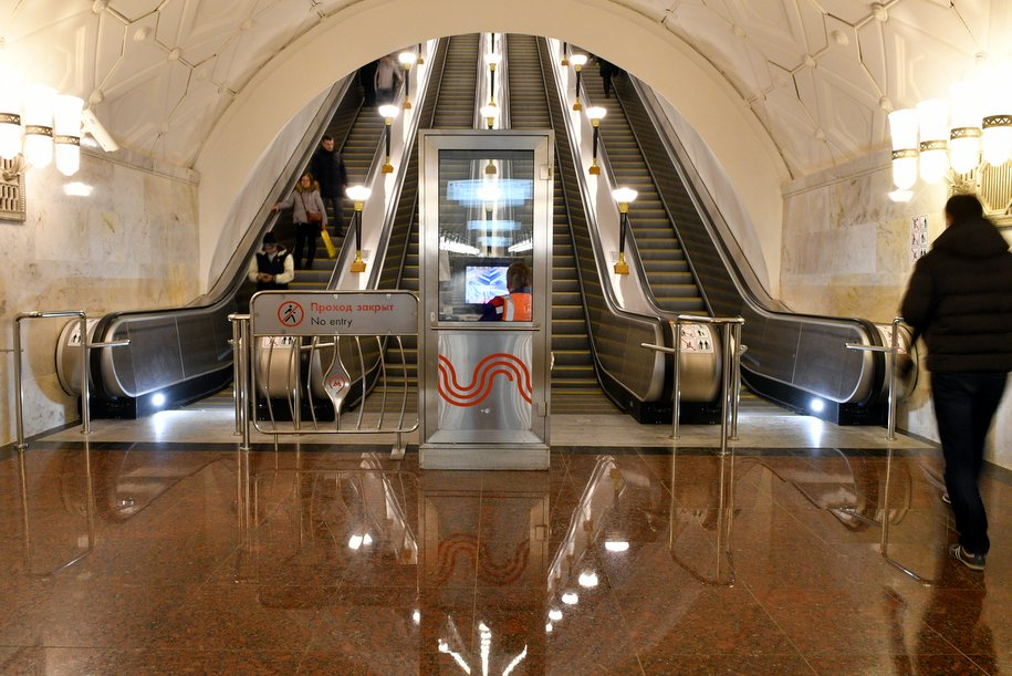 Северный вестибюль станции метро «Спортивная» открыт досрочно