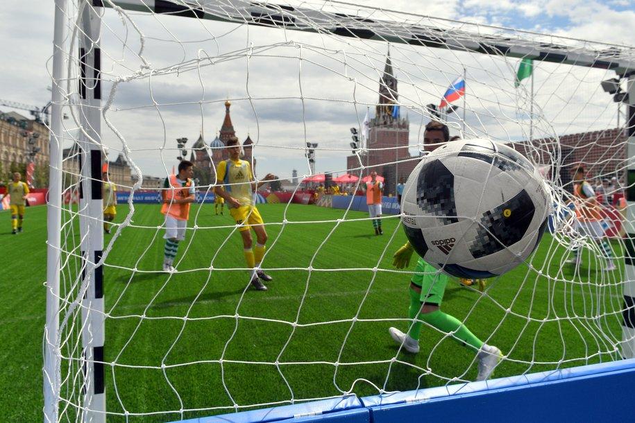 FIFA презентовала ролик с открытия Парка футбола на Красной площади