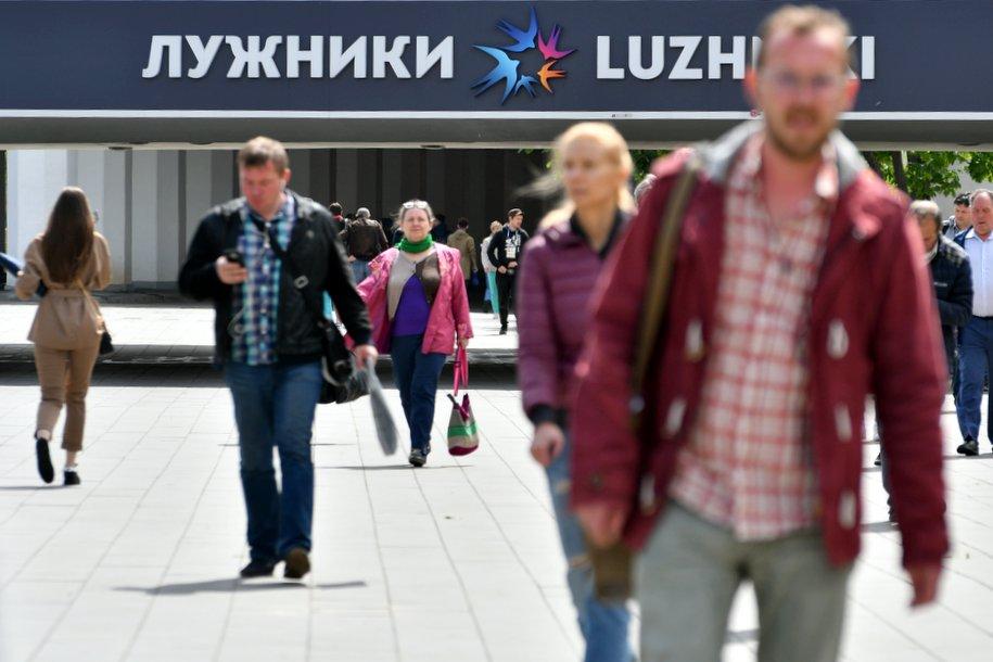 Канатная дорога в «Лужниках» сможет перевозить до 1600 человек в час