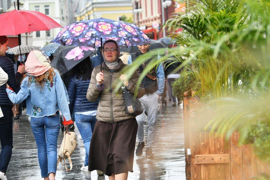 Сегодня в столице ожидается кратковременный дождь и до 26 градусов тепла