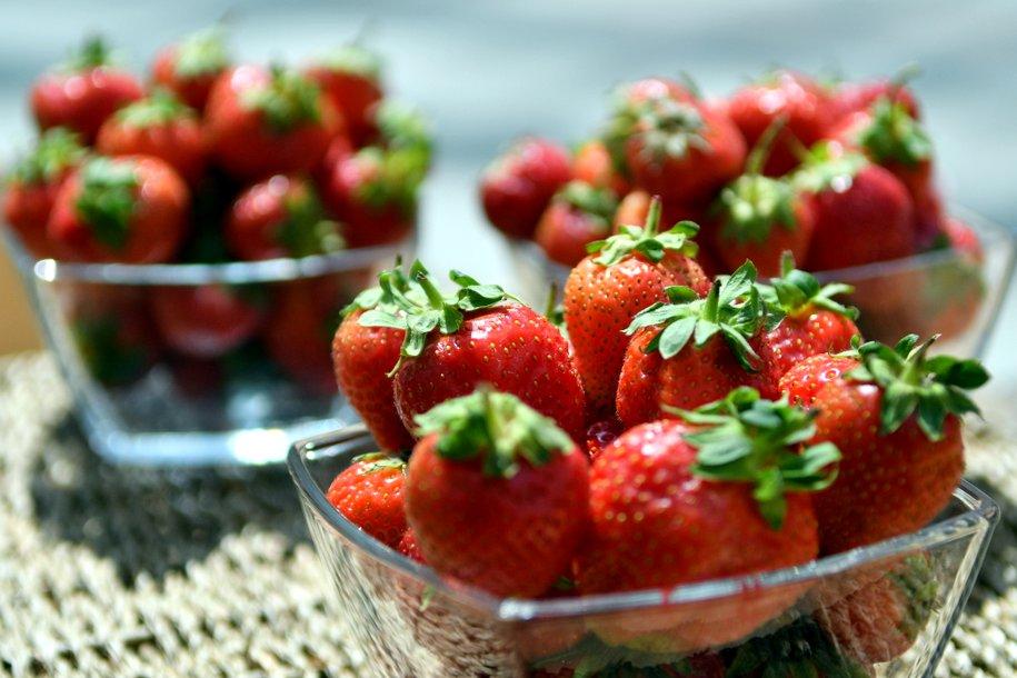 В столице открылись 194 торговые площадки с ягодами