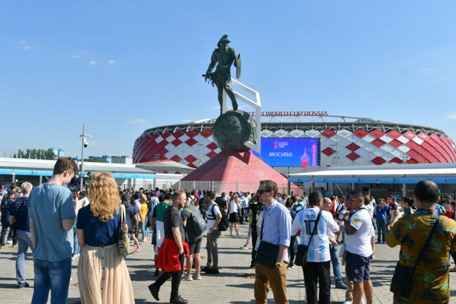 К стадиону «Спартак» на метро прибыло более 35 тыс. болельщиков