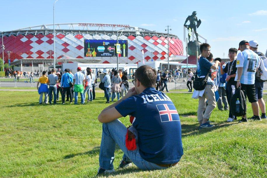 Москва лидирует по посещаемости матчей Чемпионат мира по футболу в России