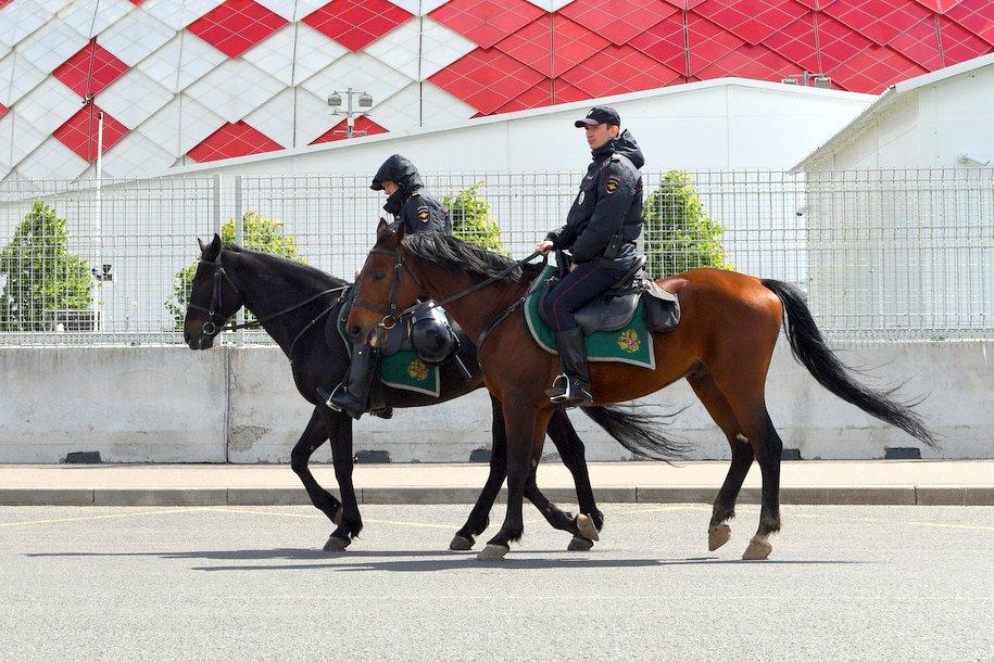 Кавалерийский полк будет дежурить в парках Москвы во время празднования Дня России