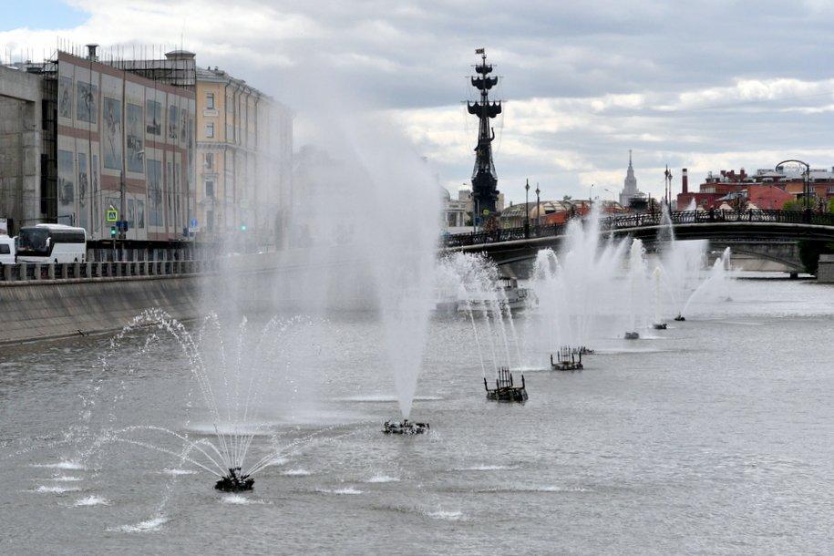 «Желтый» уровень опасности объявлен в Москве 23 июня из-за грозы и сильного ветра