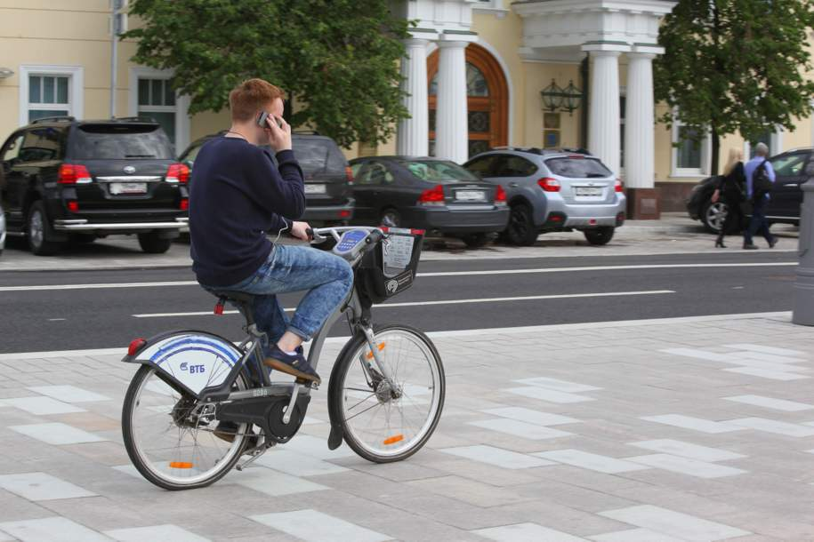 Столичный велопрокат Велобайк снизил цену на некоторые тарифы