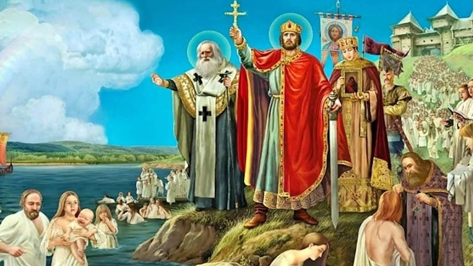 Ко Дню крещения Руси Москву украсят 400 плакатов
