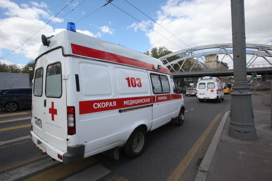 Надземный пешеходный переход обвалился в результате ДТП на Ярославском шоссе