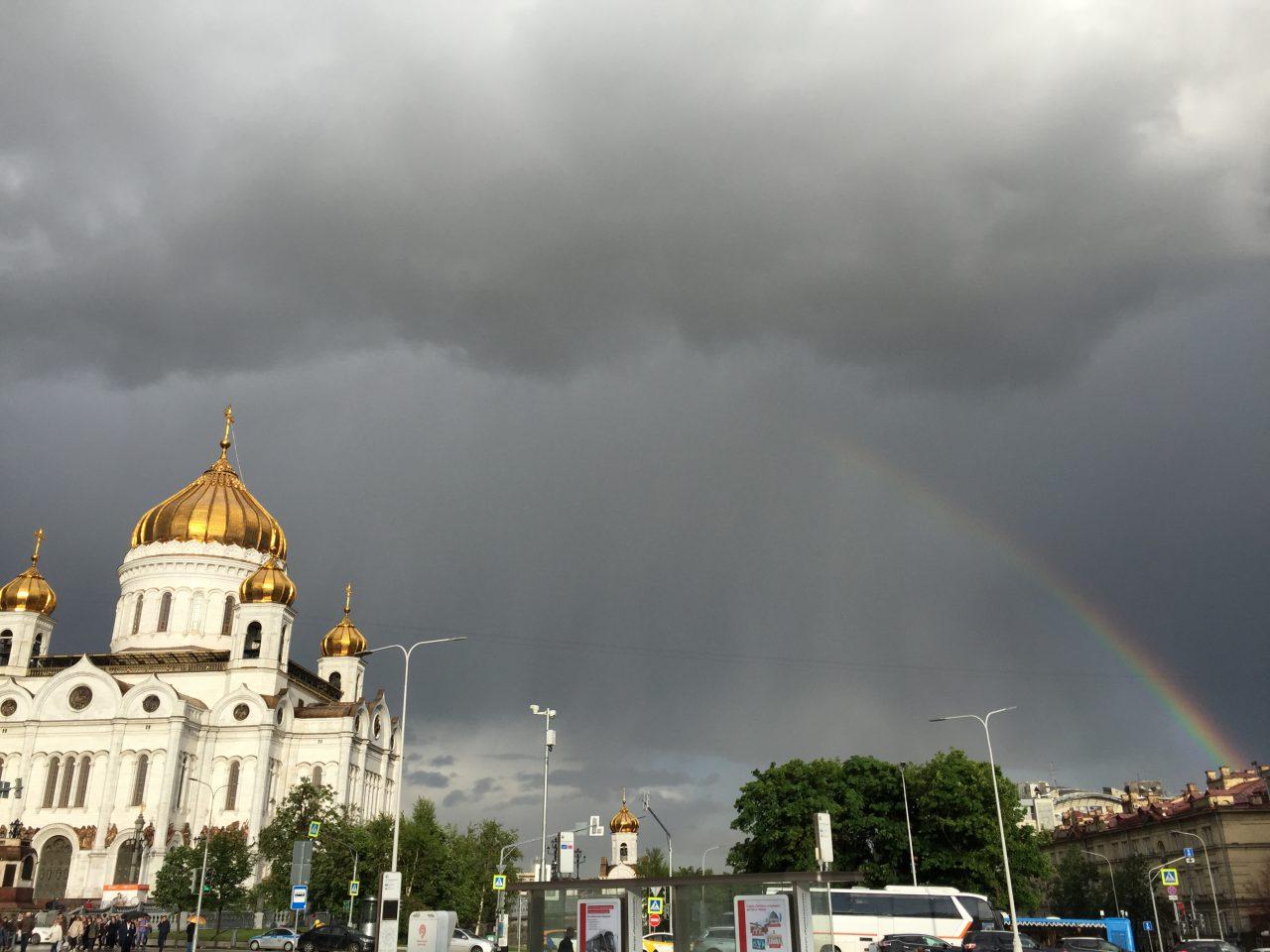 Сегодня в Москве ожидается гроза с дождем