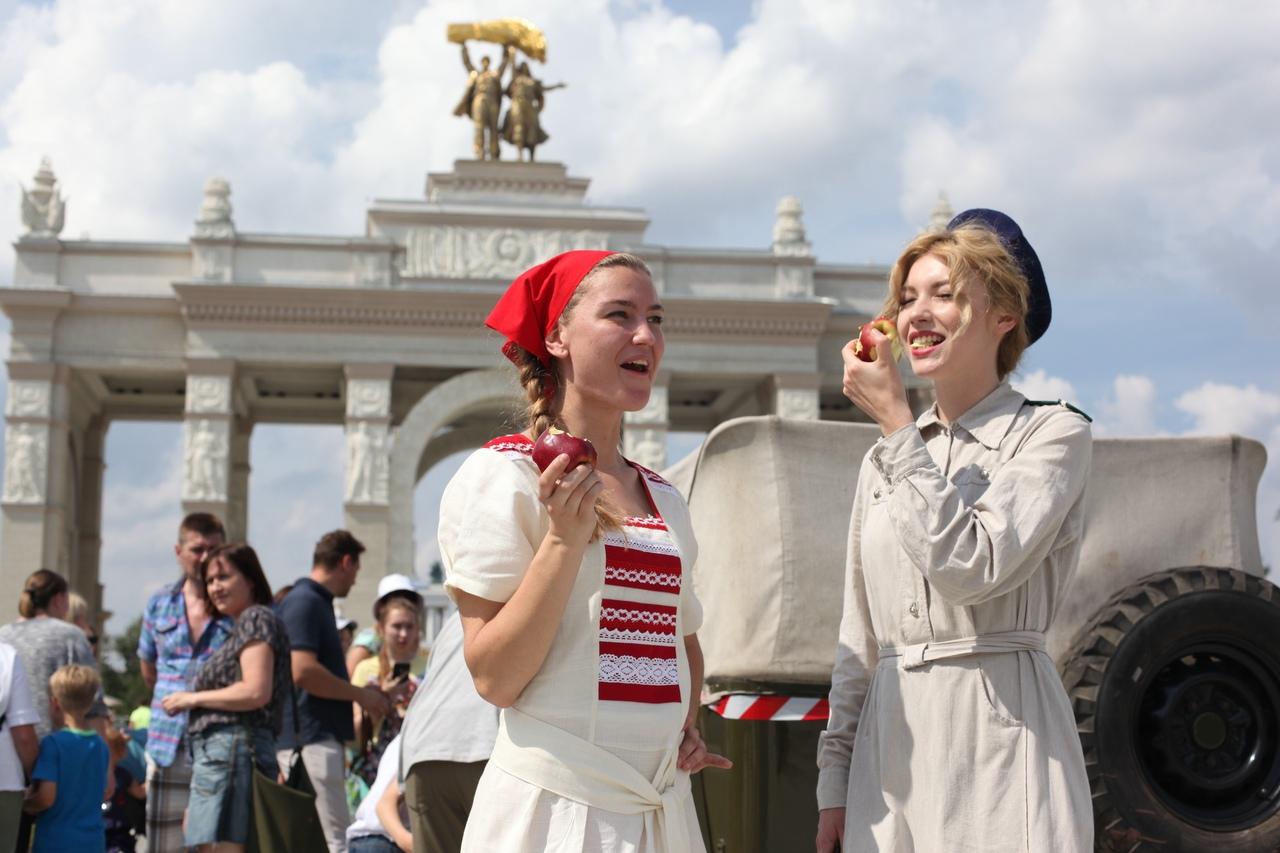 Свыше 100 тысяч человек отметили в столице День московского транспорта 14 июля