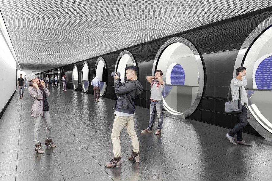 Утвержден дизайн станции «Рубцовская» БКЛ метро