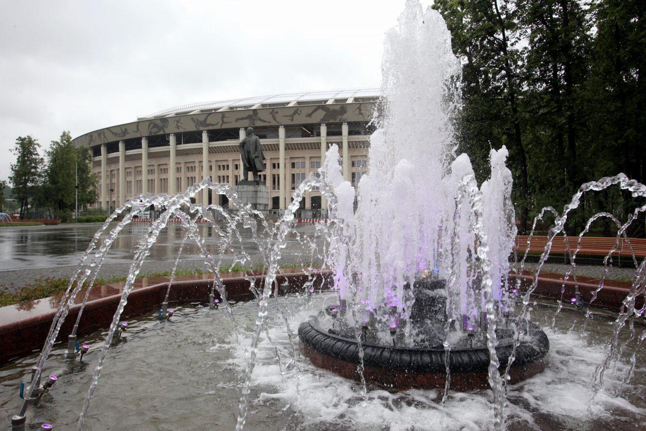 В парках Москвы в день ВДВ не будут отключать фонтаны